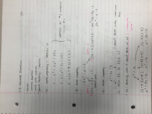MA 110 - Class Notes - Week 2