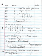 CHEM 10061 - Class Notes - Week 2