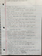 ECON 10223 - Class Notes - Week 14