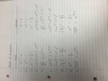UNC - MA 110 - Class Notes - Week 5