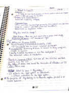 PSY 377 - Class Notes - Week 1