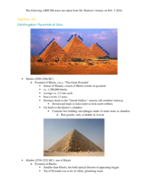 What is the main feature of the pyramid?
