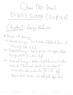 UH - CHEE 2331 - Study Guide