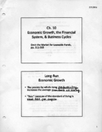 ECON 202 - Class Notes - Week 5