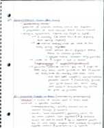 BI 315 - Class Notes - Week 4