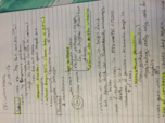 MBIO 111 - Class Notes - Week 11