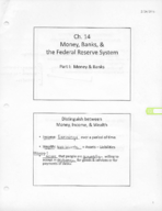 ECON 202 - Class Notes - Week 9