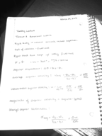 PHY 2170 - Class Notes - Week 10
