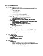 ECO 2020 - Class Notes - Week 9