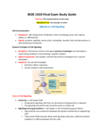What triggers signaling to begin in a target cell?