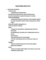 OTH 637747 - Class Notes - Week 12