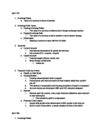 ECO 2020 - Class Notes - Week 12