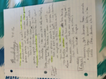 MBIO 111 - Class Notes - Week 20