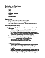 Kutztown University of Pennsylvania - PSY 1557 - Study Guide