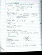 PHY 204 - Class Notes - Week 14