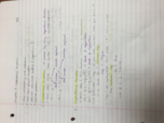 UNC - MA 110 - Class Notes - Week 13