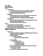 ECON 202 - Class Notes - Week 4