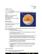151 - Study Guide