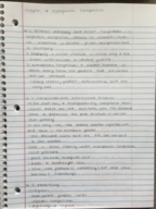 ECON 10223 - Class Notes - Week 16