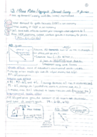 ECON 2105 - Class Notes - Week 5
