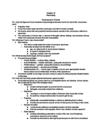 PSYC 1000 - Study Guide