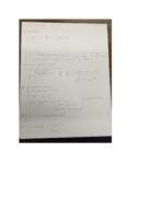 MATH 237 - Class Notes - Week 14