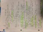MBIO 111 - Class Notes - Week 23