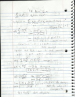 MATH 2419 - Class Notes - Week 17