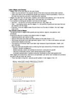 ECON 1010 - Class Notes - Week 12