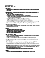 Pace - PSY 303 - Study Guide - Final