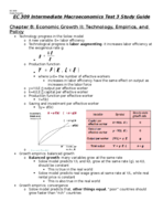 STAT 309 - Study Guide