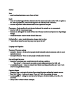 PSY 1 - Class Notes - Week 9