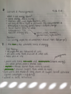 photosynthesis lecture notes