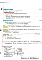 BUAD 281 - Class Notes - Week 1