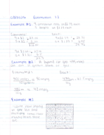 MATH 1301 - Class Notes - Week 1
