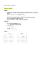 SPANISH 2020 - Class Notes - Week 2