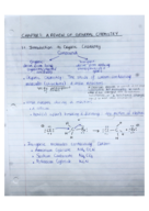 CHEM 2321 - Class Notes - Week 1