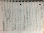 BMSP 1005 - Class Notes - Week 1