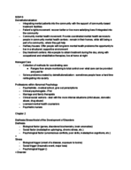 PSY 320 - Class Notes - Week 2