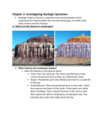 LSU - GEOL 1001 - Class Notes - Week 2