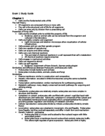 BSC 300 - Study Guide