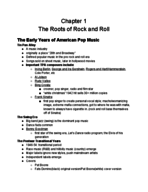 HIST 287 - Study Guide