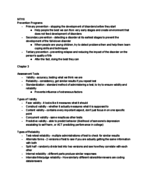 PSY 320 - Class Notes - Week 3