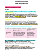 ACCT 8021 - Study Guide