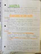 SYSB 1105 - Study Guide