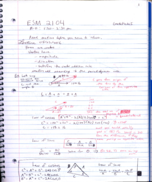 ESM 2104 - Class Notes - Week 1