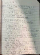 CHM 2045 - Class Notes - Week 3