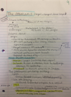 His 1112 - Class Notes - Week 3