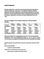SPANISH 2020 - Class Notes - Week 5