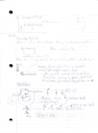 CHEM 101 - Class Notes - Week 3